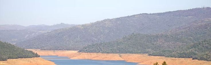 Lake Oroville March 2021