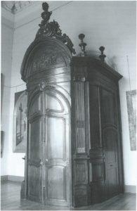Cahiers de la Haute-Loire. Année 2011. Tambour d'entrée de l'ancienne chapelle de la Visitation. Musée Crozatier.