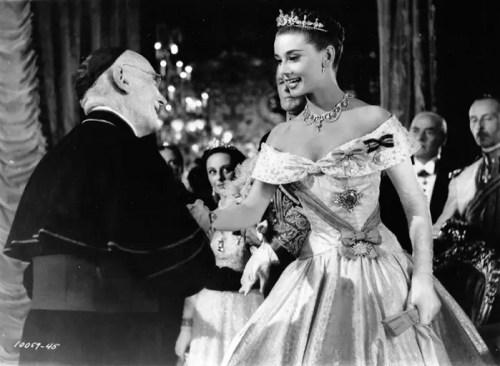 Audrey Hepburn as Princess Ann in Roman Holiday, 1953