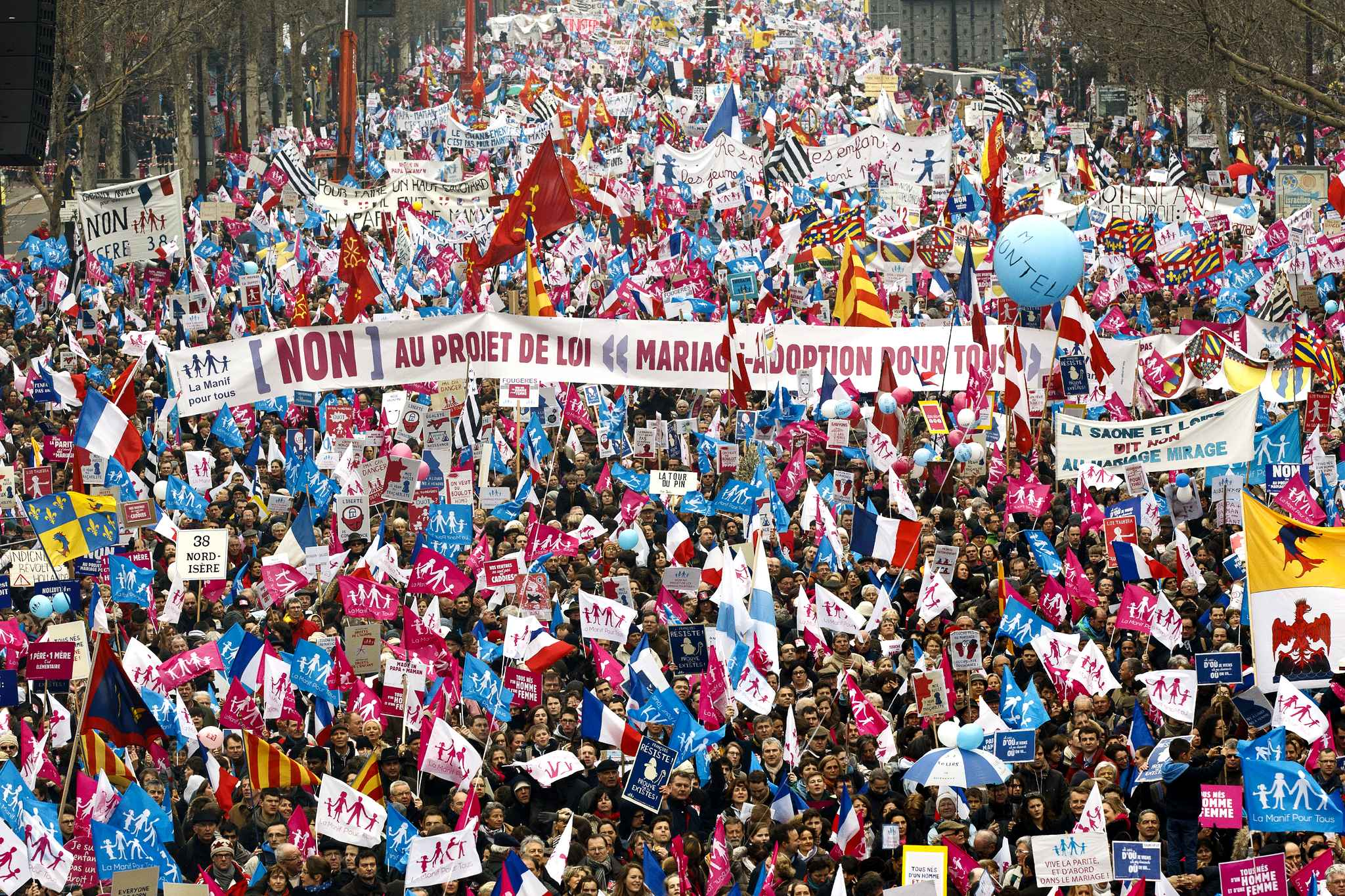 Image result for manif pour tous 2013