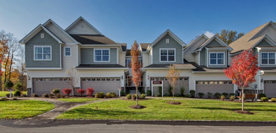 Maple Fields, a collection of three-bedroom townhomes in Orange County's Middletown.