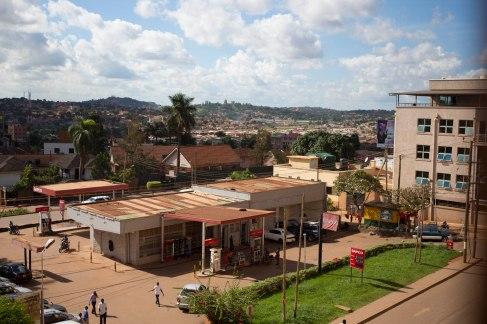 Scenes from Kampala.