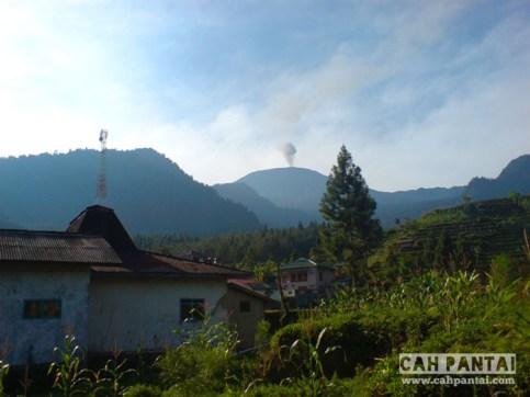 Gunung Slamet dari Guci