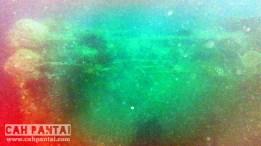 Foto Indonor Wreck dari atas dengan kamera minimalis Kodak Playsport