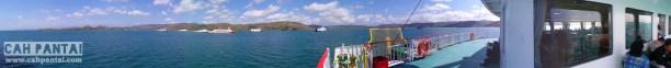View dari Kapal Ferry