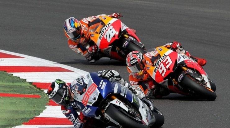 Drama Moto GP 2015