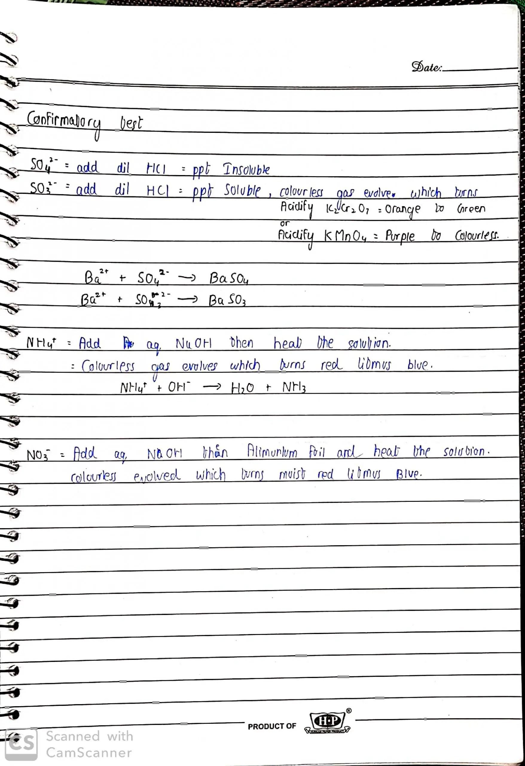 Olevel chem By sir Rizwan identification of ions_4