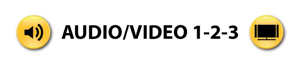 Audio Visual 1-2-3