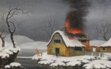 Burning Cottage ( the clever apprentice did it)