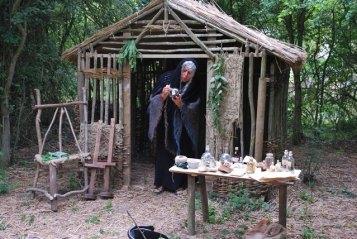 Wise women hut witches hut