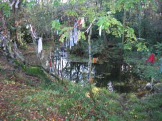 Holy well land wight worship