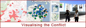 New section about visualising the conflict: launched 20th January 2012
