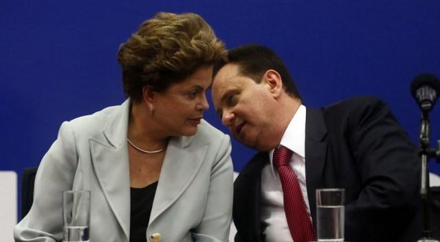 DILMA NA CONCEN«√O NACIONAL DO PSD EM BRASÕLIA