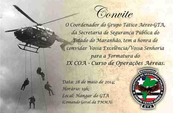 CONVITE_IX_CURSO_DE_OPERAÇÕES AÉREAS