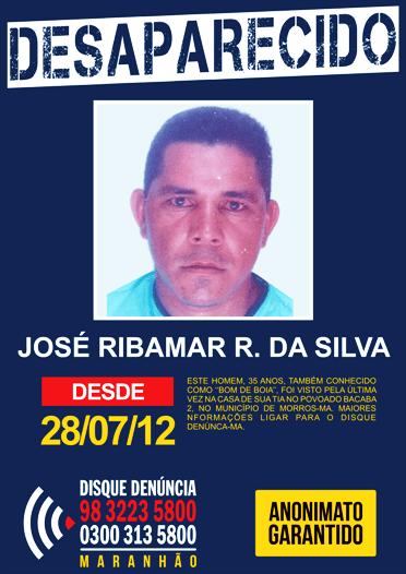 DESAPARECIDO - JOSE RIBAMAR