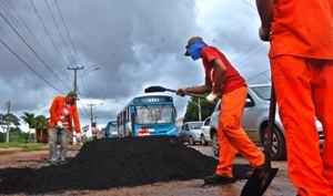 Foto 1 - Sinfra fiscaliza trabalho nas MAs