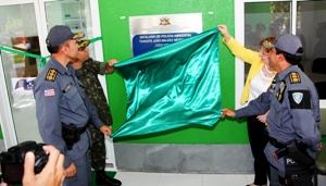 Foto 1 inauguração batalhão policia ambiental foto Handson Chagas