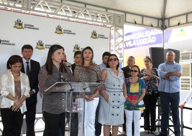 Foto 2 Gov. Inaugura UPA DA VILA LUIZÃO foto Geraldo Furtado