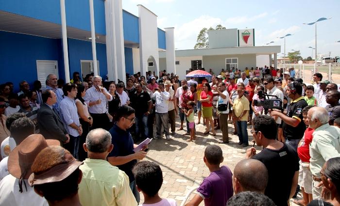 Foto 2 inauguração delegacia em Bom Jesus das Selvas foto Handson Chagas
