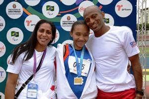 Foto 2 medalhas nas paralimpíadas
