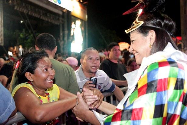 Foto 5 - Governadora na Pra+ºa Deodoro