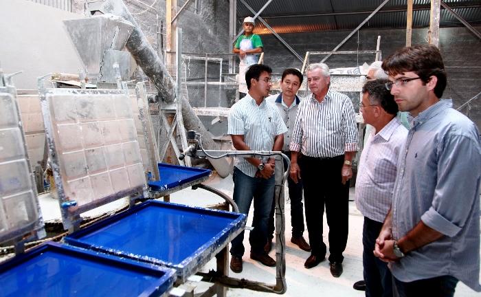 Foto 9 visita fabrica de gesso  em Grajaú foto Handson Chagas