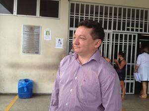 Diretor do HUT, Gilberto Albuquerque  (Foto: Catarina Costa / G1)