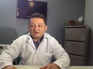 Gilberto Albuquerque, diretor do HUT (Foto: Ellyo Teixeira/G1)