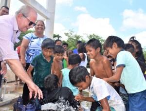 thumbnail FOTO 2 20 - Hildo Rocha inaugura moderno sistema de abastecimento de água na Aldeia Três Irmãos, em Barra do Corda - minuto barra