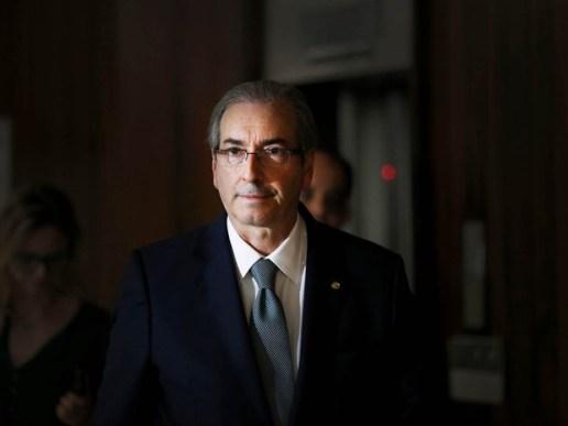 Eduardo Cunha, em foto de julho de 2015; ex-presidente da Câmara foi preso pela Lava Jato nesta quarta-feira  (Foto: Dida Sampaio/Estadão Conteúdo)
