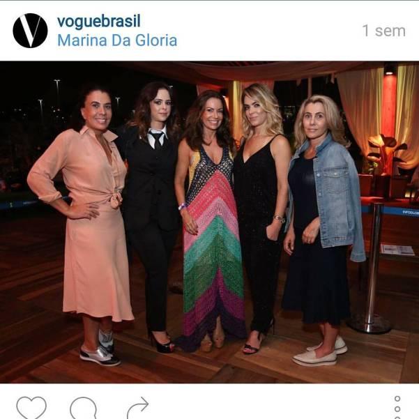 Empresárias do setor fashion (Foto:Reprodução/Vogue)