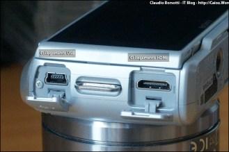 Connessione USB e HDMI