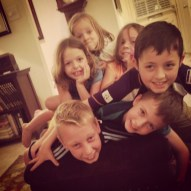 Saying goodbye to cousins is hard. There were a lot of tears.