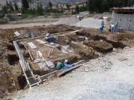 Foundation work of house 7