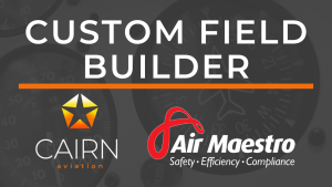 Air Maestro Custom Field Builder