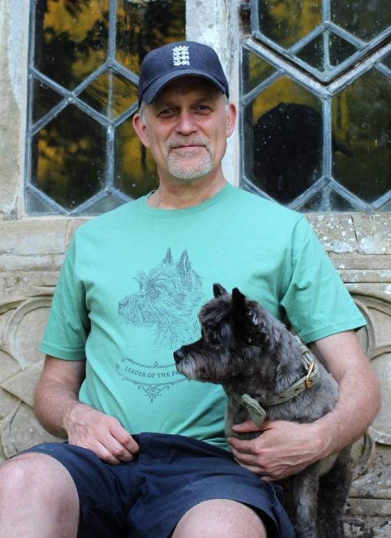 Sage Green cairn terrier T-shirt