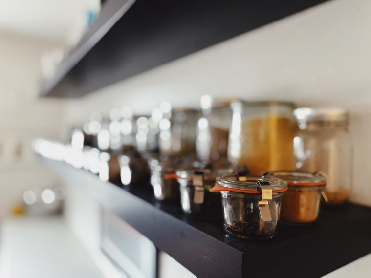 zero-waste storage for spices