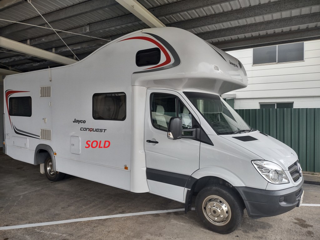 2013 Jayco Conquest now sold