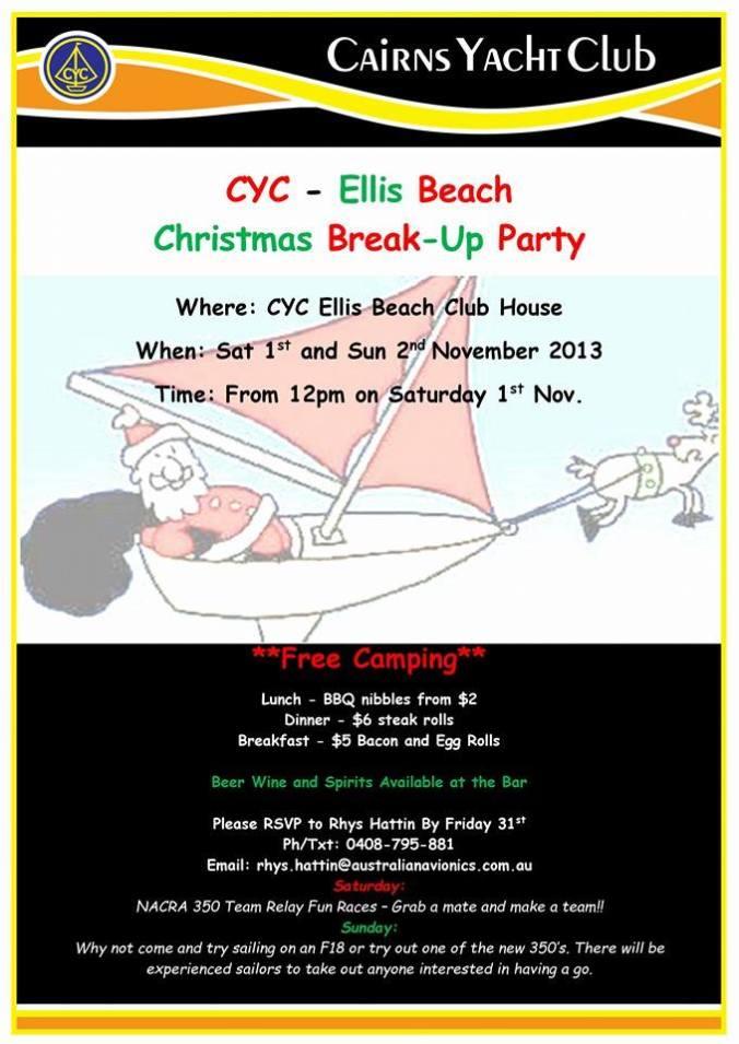Ellis Beach Christmas Break Up Party