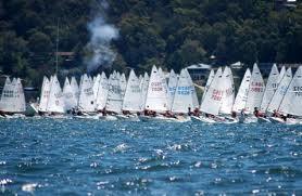 Sabot sailing picture