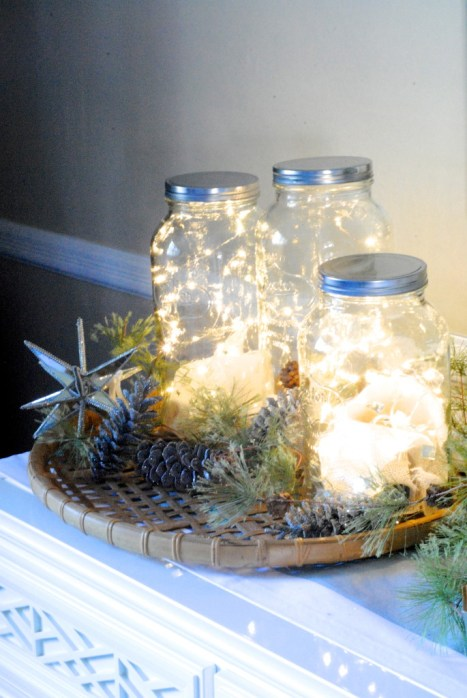http://makinglemonadeblog.com/25-gorgeous-ways-to-use-fairy-christmas-string-lights/