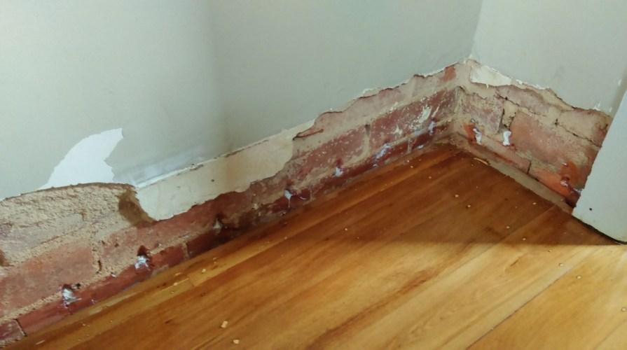 cải tạo chống thấm ngược chân tường