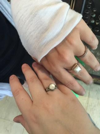sister rings!!