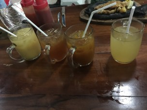 Javanese drinks! Crazy names