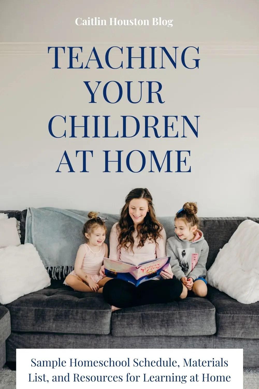 Teaching Your Children at Home During Coronavirus