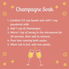 Champagne Soak NYE