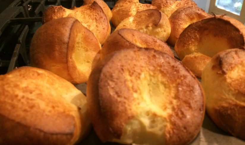 Perfect Pumpkin Popovers
