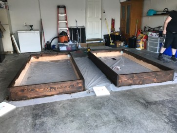 Building 4'x8' beds