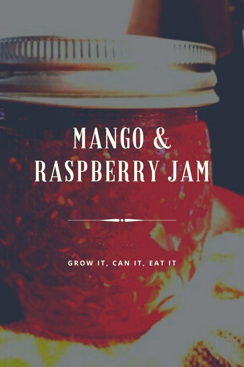 Mango & Raspberry Jam