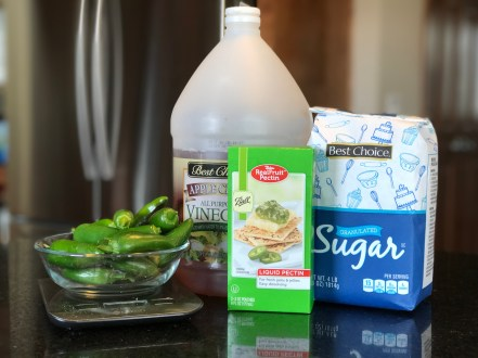 Jalapeno Jelly ingredients